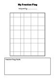 Fraction Flag Worksheet