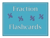 Fraction Flascards