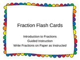 Fraction Flash Card PowerPoint