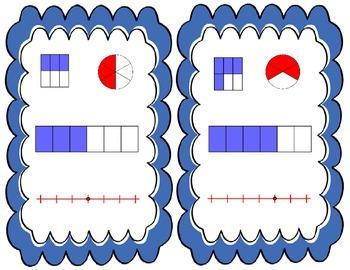 Fraction Flash Cards