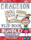 Fraction Flip Book BUNDLE!
