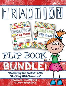 Fraction Flip Book BUNDLE!