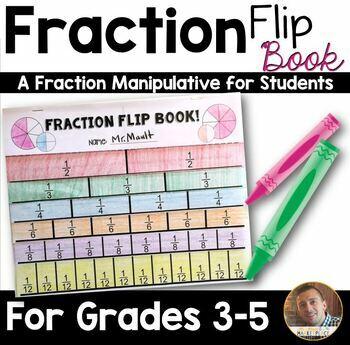 Equivalence Fraction Flip Chart Maths Ressources