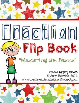 Fraction Flip Book: Mastering the Basics