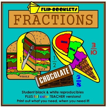 Fraction Flip Booklets