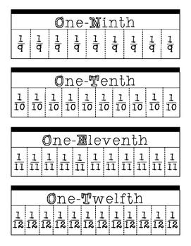 Fraction Flip Chart
