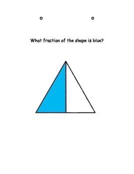 Fraction Flip Chart:  2nd & 3rd Grade Common Core Aligned