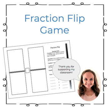 Fraction Flip Game