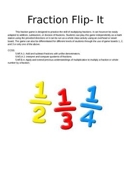 Fraction Flip it