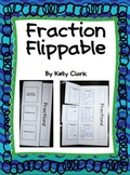 Fraction Flippable-Defines a fraction, numerator, and denominator