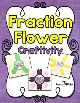 Fraction Flower Craftivity