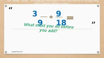 Fraction Fluency Fun 1