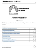 Third Grade Fluency Practice for Fractions (TEKS 3.3)