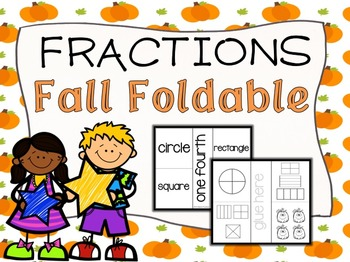 Fall Fraction Foldable