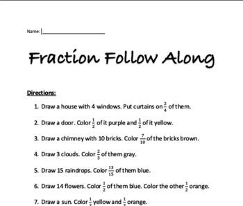 Fraction Follow Along