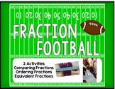 Fraction Football Activity Bundle