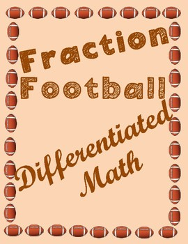 Fraction Football-Differentiated
