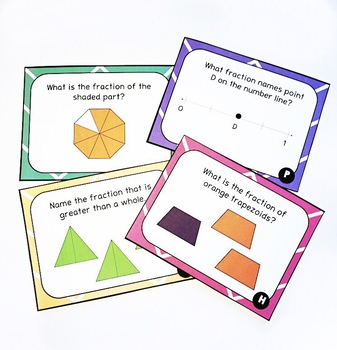 Fraction Review Game- Fraction Fortune