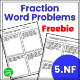Fraction Word Problems FREEBIE