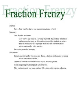 Fraction Frenzy