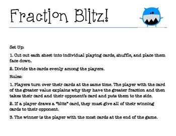 Fraction Blitz - A CLASS FAVORITE!
