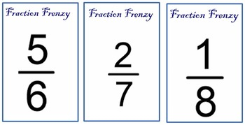 Fraction Frenzy - 3 Games in 1