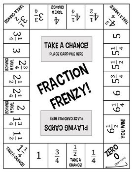 Canny image regarding dividing fractions games printable