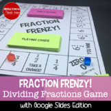 Fraction Frenzy! A Dividing Fractions Board Game
