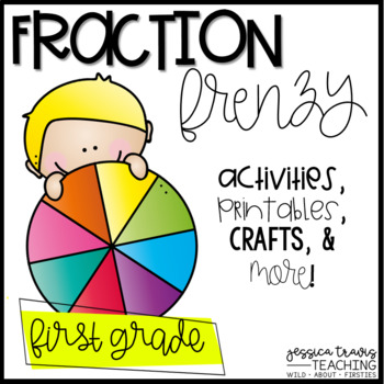 Fraction Frenzy FUN! {activities, printables, centers, crafts and MORE}
