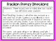 Fraction Frenzy! Fraction Review Center Game