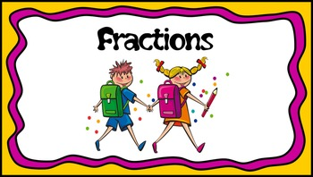 Fractions Frenzy - Halves, Quarters, Eights & Tenths