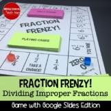Fraction Frenzy (Improper Fraction Edition)!