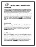Fraction Frenzy: Multiplication