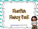 Fraction Frenzy Pack