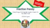 Fraction Frenzy for Grade 3 - 100% SBAC Aligned