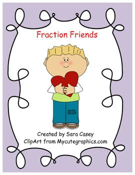 Fraction Friends & Hearts