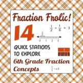 Fraction Frolic - 6th Grade Fraction Concepts - Active Math