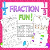 Fractions Activities / Fractions Practice / Beginning Fractions