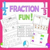 Fractions Activities / Fractions Practice / Beginning Fractions