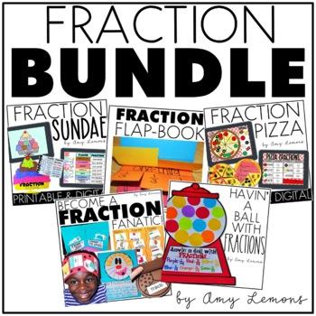Fraction Fun {A BUNDLE of Fraction Activities!!}