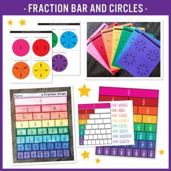math worksheet : fraction fun a math packet by the teacher wife  tpt : Fraction Packet