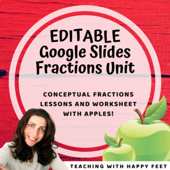 Fraction Fun: Appealing Apples! Google Bundle!