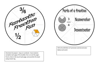 Fraction Fun Booklet