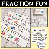 Fraction Fun: Centers & Activities