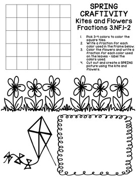 Fraction Fun: Craftivity and Foldables 3.NF.1 3.NF.2