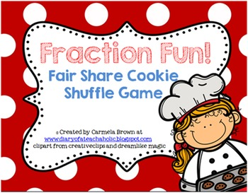 Fraction Fun - Fair Share Cookie Shuffle Game