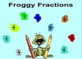 Fraction Fun Frogs