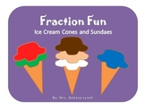 Fraction Fun: Ice Cream Cones and Sundaes