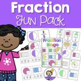 Fraction Fun Pack - Games & Activities