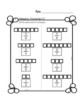 Fraction Fun Practice For Beginners
